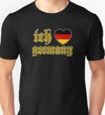 Classic Ich Liebe - I Love Germany T-Shirt