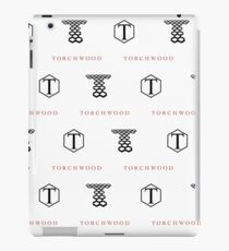 Torchwood Logos iPad Case/Skin