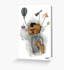 Dream Bubbles Greeting Card