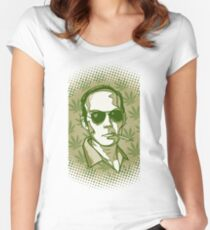Hunter S. Thompson 420 Women's Fitted Scoop T-Shirt