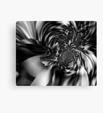Motion in Black and White Canvas Print