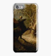 The Headless Horseman and Ichobad Crane. iPhone Case/Skin