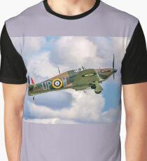 Hawker Hurricane I R4118 G-HUPW Graphic T-Shirt