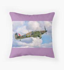 Hawker Hurricane I R4118 G-HUPW Throw Pillow