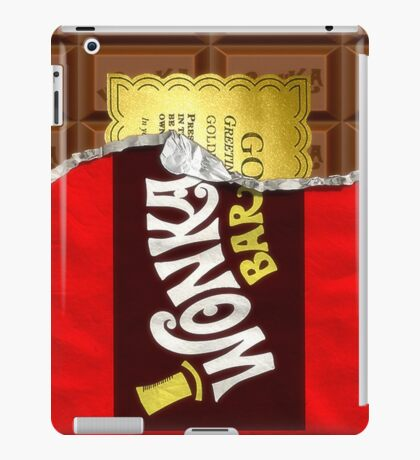 Willy Wonka Golden Ticket iPad Case/Skin