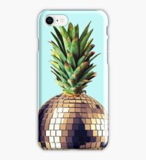 Ananas Party (pineapple) blue version iPhone Case/Skin