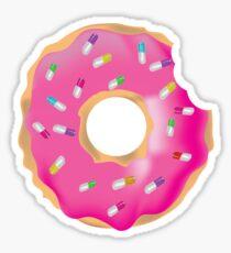 Pink Molly Donut Sticker