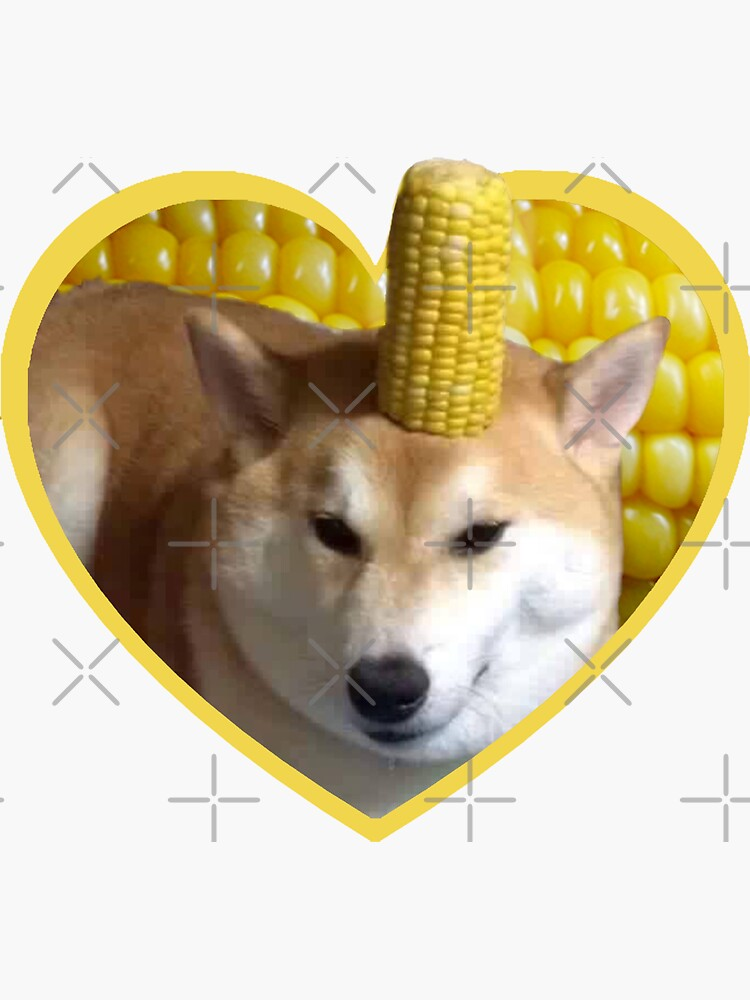 Doggo Stickers: Corndog by Elisecv