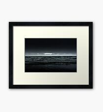 Coast...Dark coast! Framed Print