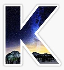 K Star Night Sticker