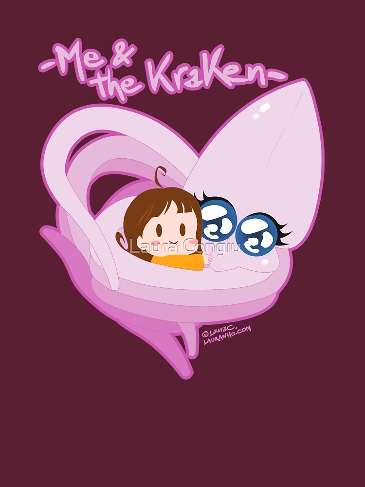 Me & the kraken by laurawho