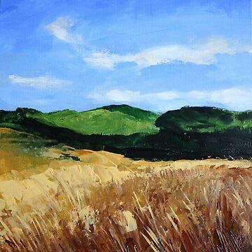 Wild Cornfield by chalk42002