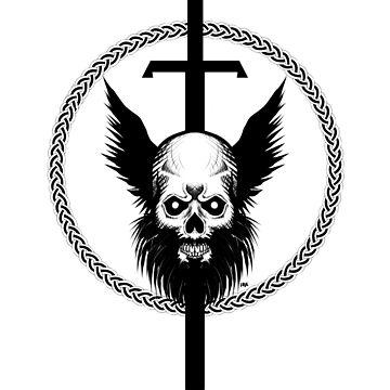 Skull & Sword by Kuauh