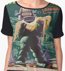 Vintage poster - Forbidden Planet Chiffon Top
