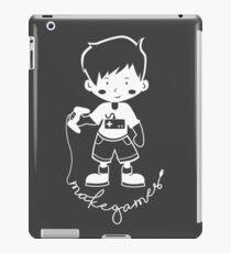 Make Games iPad Case/Skin