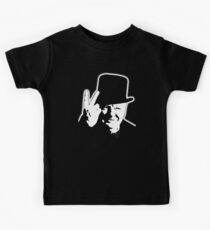 V sign, Victory, V, 1943, WWII, Winston, Churchill, British prime minister,  Kids Clothes