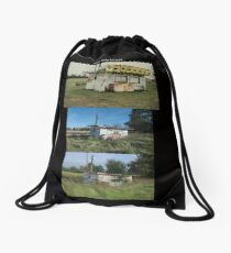 When Buildings Fall Apart Drawstring Bag