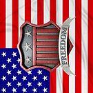 USA Shield by Packrat