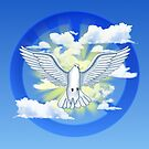 Dove Of Peace by Packrat