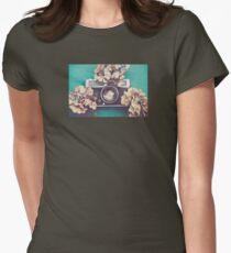 Camera & Hydrangea T-Shirt