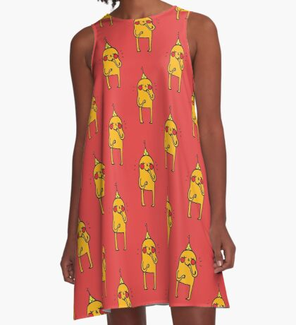 it's my party and everyone is looking at me A-Line Dress
