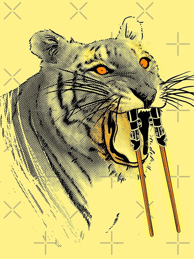 Saber-toothed Tiger by tobiasfonseca