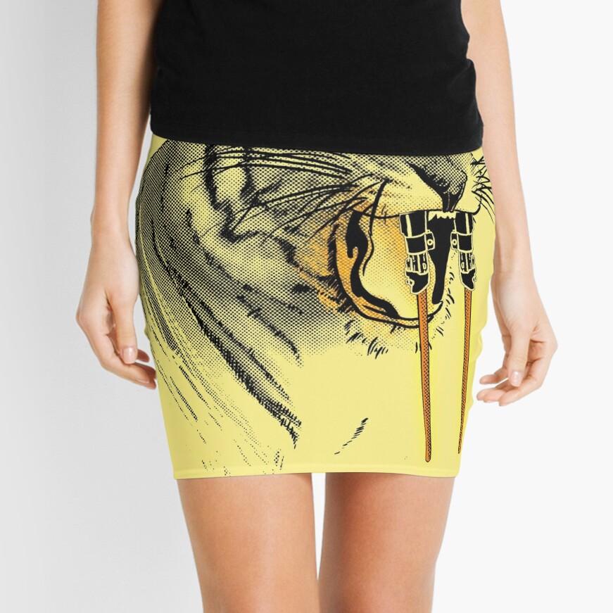 Saber-toothed Tiger Mini Skirt