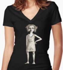 Second to none Women's Fitted V-Neck T-Shirt