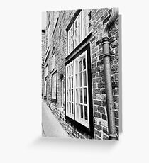 point of wiew of lubeck Greeting Card