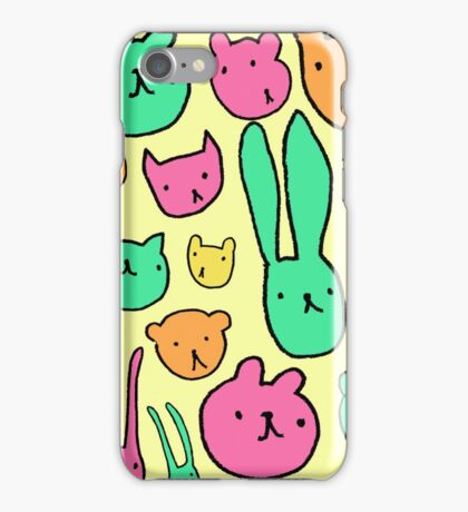 animals two iPhone Case/Skin