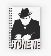 Tony Hancock - Stone Me Spiral Notebook