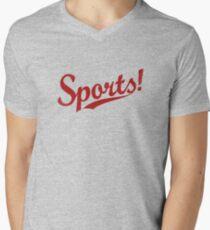 Sports! Men's V-Neck T-Shirt