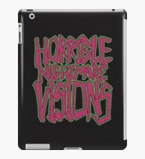 Horrible Nightmare Visions - Vintage iPad Case/Skin
