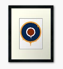 The Roundel Framed Print