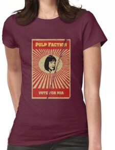 Pulp Faction - Mia Womens Fitted T-Shirt