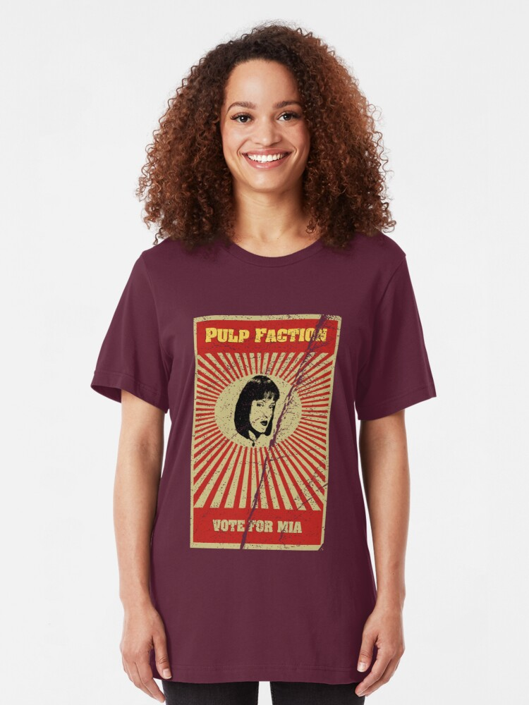 Alternate view of Pulp Faction - Mia Slim Fit T-Shirt