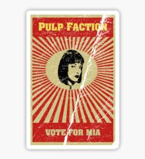 Pulp Faction - Mia Sticker