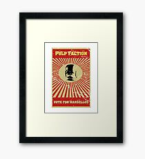Pulp Faction - Marsellus Framed Print