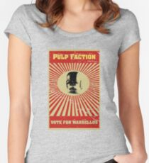 Pulp Faction - Marsellus Women's Fitted Scoop T-Shirt