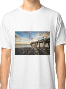 Venice Fishing Pier Sunset  Classic T-Shirt