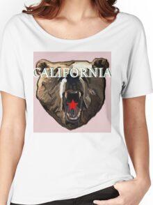 Cali Brown Bear Women's Relaxed Fit T-Shirt