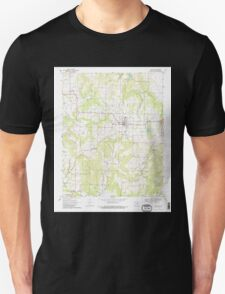 USGS TOPO Map Arkansas AR Lincoln 258929 1970 24000 Unisex T-Shirt