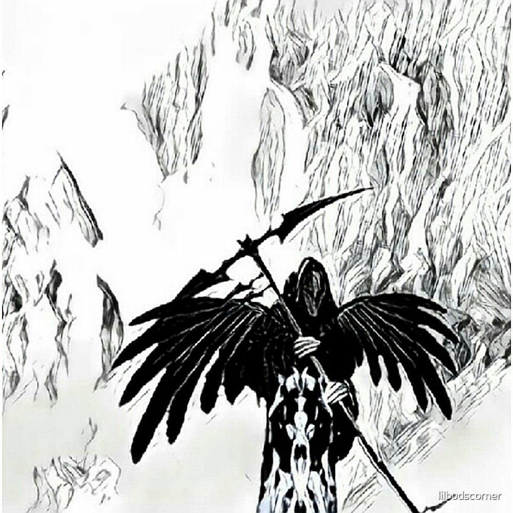 New Angel of Death by lilbudscorner