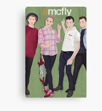 //MCFLY  Canvas Print