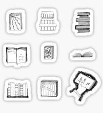 Pegatina Little Book Sketches