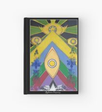 .A Pleasant Arrangement of Icons and Colours #1. Hardcover Journal