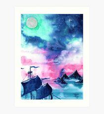 Neverland Sky Art Print