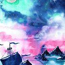 Neverland Sky by FaerytaleWings