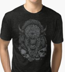 Dark Bison Tri-blend T-Shirt
