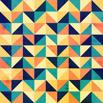 Triangles pattern by sokolselmani